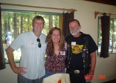 Brad, Carol, Dan