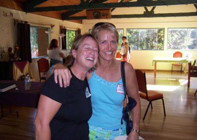 Linda (Rufolo) Perata & Nancy Cady