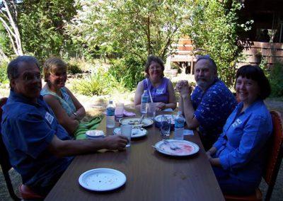 Lunch 8-20 Lynch, Reynolds, Brunell