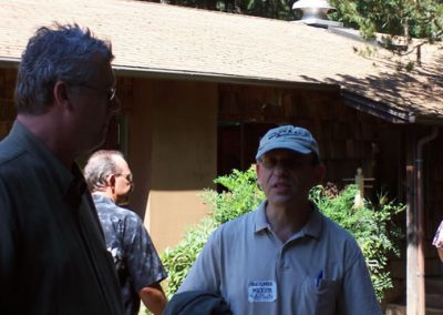 Michael Sentz and Bernie Meyer