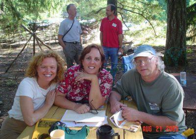 Nancy,Deb, Mike