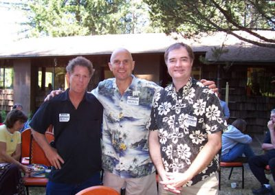 Steve Johnson, Andy Papendieck and Keith Swanson
