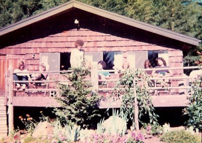 1976 Dining Hall deck